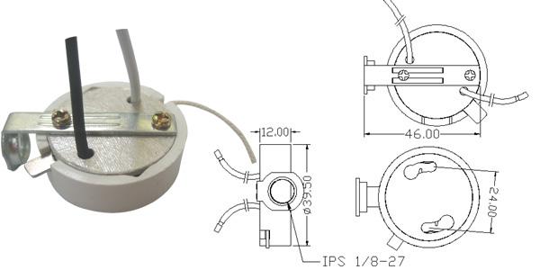 电线灯座接法图解